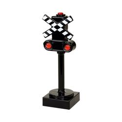 BRIO® Spielzeug-Eisenbahn Blinkendes Bahnsignal