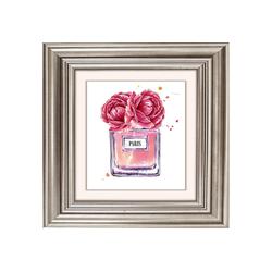 queence Acrylglasbild Blüten Parfum