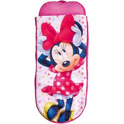 ReadyBed Junior 2in1 (Schlafsack, Kissen und Luftmatratze), Minnie Mouse pink/weiß