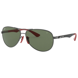 RAY BAN Sonnenbrille Ferrari RB8313M grau