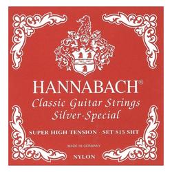 Hannabach 815 SHT Saiten Super High Tension rot