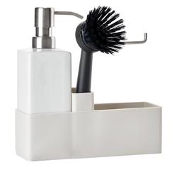 Geschirrspül-Set mit schwarzer Spülbürste