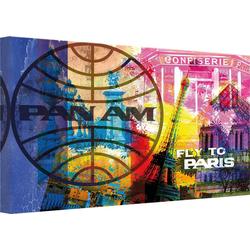 Leinwandbild PAN AM - Paris