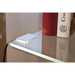 Glasbodenbeleuchtung - LED-Clip 2er Set