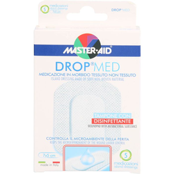DROP med 5x7 cm Wundverband steril Master Aid 5 St.
