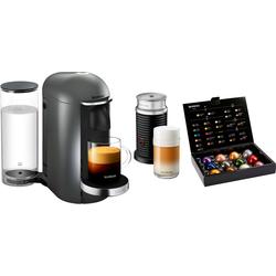 Nespresso Kapselmaschine XN902T Vertuo Plus, inkl. Milchaufschäumer