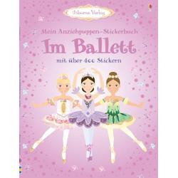 Usborne Im Ballett Anziehpuppen Stickerbuch 4747