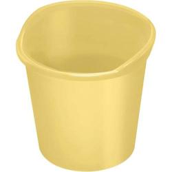 Papierkorb 13 Liter gelb