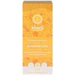 Khadi Pflanzenhaarfarbe Sonnenblond 100 g