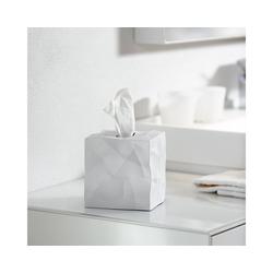 Klein & More Aufbewahrungsbox Essey Papiertücher-Box WIPY CUBE weiß