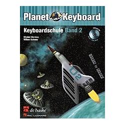Planet Keyboard  Keyboardschule  m. Audio-CD. Willem Aukema  Michiel Merkies  - Buch