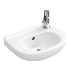 Villeroy & Boch O.novo Handwaschbecken compact 36 x 27,5 cm… Weiß Alpin