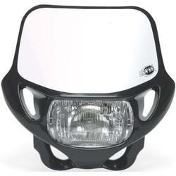 Acerbis DHH Certified Voormasker met koplamp, zwart