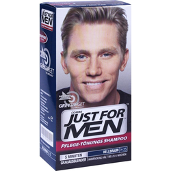 Just for men Tönungsshampoo Hellbraun