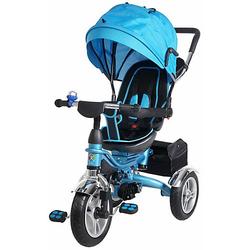 Kinder Dreirad KSF10 Schieber blau