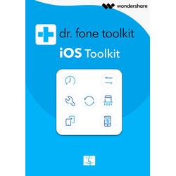 Wondershare Dr. Fone für iOS Toolkit (1 Jahr / 5 Geräte) - Mac