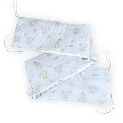 timitama Babybett-Umrandung Jungle 30x210 cm