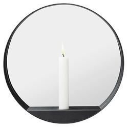 Gejst Glim Kerzenständer und Spiegel Rund