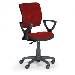Bürostuhl, schreibtischstuhl milano ii, rot