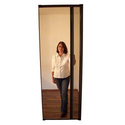 Insektenschutzrollo Tür 125 x 220 cm,  weiß