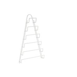 Metaltex Topf-Set Topfdeckelhalter für Schrank Deckelhalter Schranktür