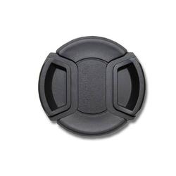 vhbw Objektiv Deckel 58mm Innengriff Snap on Schwarz passend für Kamera Canon MP-E 65 mm 2.8 (Lupenobjektiv), Canon TS-E 90 mm 2.8