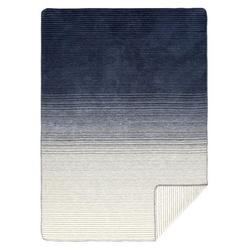 Wolldecke Lina Bio/GOTS 150 x 200 cm, yogabox, sehr weich und kuschelig blau