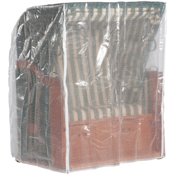 Sonnen Partner Strandkorb-Schutzhülle, für Strandkörbe, BxLxH: 144x114x154 cm, steingrau grau Gartenmöbel-Schutzhüllen Gartenmöbel Gartendeko Strandkorb-Schutzhülle