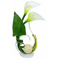 Kunstpflanze Calla Calla, I.GE.A., Höhe 40 cm