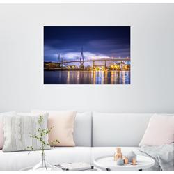 Posterlounge Wandbild, Köhlbrandbrücke II 100 cm x 70 cm
