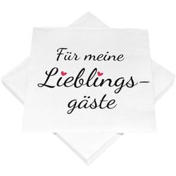 Servietten LIEBLINGSGÄSTE Heku GmbH