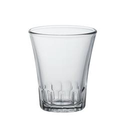 Duralex Teeglas Amalfi, Glas, Kaffeeglas Teeglas 90ml Glas transparent 4 Stück Ø 6 cm x 7.1 cm
