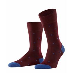 FALKE Socken Dot (1-Paar) mit hoher Farbbrillianz rot 47-50