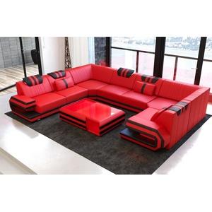 Sofa Dreams Sofa Ragusa, U Form rot