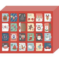 Morgen kommt der Weihnachtsmann!, Adventskalender Kinder zum Selber-Befüllen  Kinder