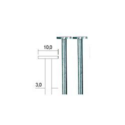 Proxxon Scheibenfräser, 10 mm