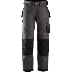 Snickers Workwear Arbeitshose DuraTwill Gr. 48 - 56 grau 56
