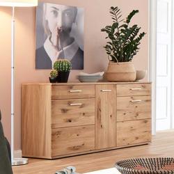 Esszimmer Sideboard aus Eiche Bianco geölt 150 cm breit