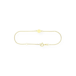 JuwelmaLux Armband Armband Doppelherz 333/000 8 Karat Gold 18 cm