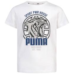 PUMA Alpha Graphic Chłopcy T-shirt 580229-02 - 152