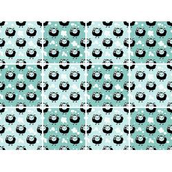 Fliesenaufkleber, Fliesenaufkleber, 44393367-0 bunt 15x0,1x15 cm bunt
