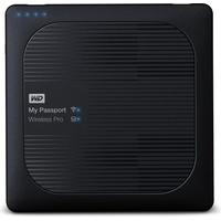 Western Digital My Passport Wireless Pro 1TB USB 3.0 schwarz (WDBVPL0010BBK-EESN)