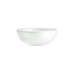BUTLERS Salatschüssel PURO Salatschale, Qualitätsporzellan, weiße Salatschale Ø 25cm - Schüssel aus Porzellan