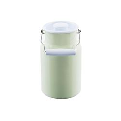 Riess Milchkanne Milchkanne mit Deckel 2 Liter Classic Color, 2 l, Milchkanne
