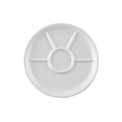 Thomas Porzellan Grillteller Trend Weiß Fondue-/Grillteller, (1 Stück)