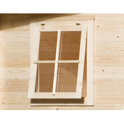 weka Fenster, BxH: 69x79 cm, Fichtenholz