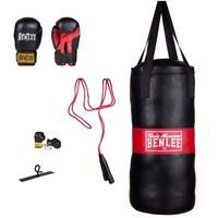 BENLEE Rocky Marciano Kinder Boxing Bag Set Punchy Schwarz,