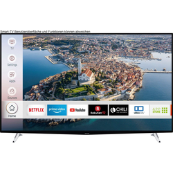 Hanseatic 65H500UDS LED-Fernseher (164 cm/65 Zoll, 4K Ultra HD, Smart-TV, HDR10)