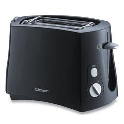 Cloer Toaster Toaster 3310 Schwarz