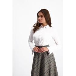 Lavard Weißes Damenhemd 84814